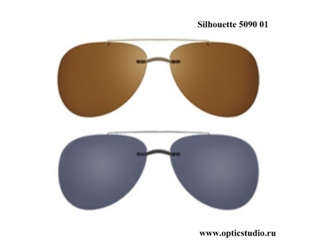 Солнцезащитные клипоны (клипы) Silhouette
