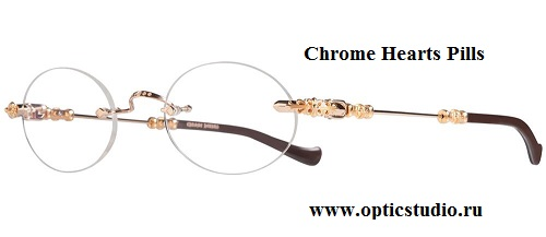 Изначально эта оправа Chrome Hearts предназначена для изготовления  медицинских очков a4c9ff6090821