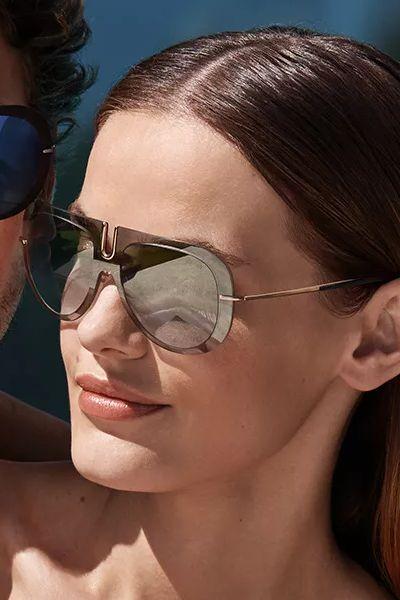 женские солнцезащитные очки Силуэт